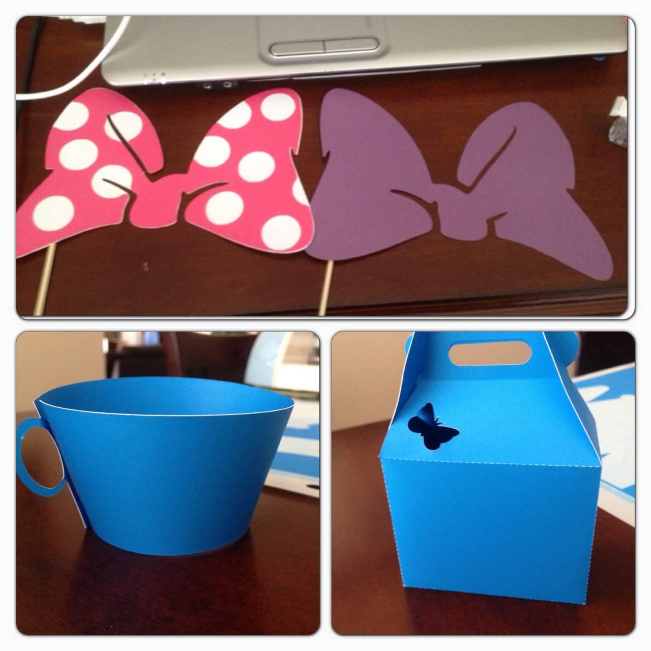 Minnie Daisy Butterfly Birthday Brunch