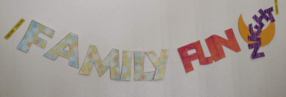 Family Fun Night Banner