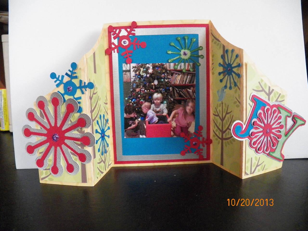 Fun folds card Miss Kate cuttables