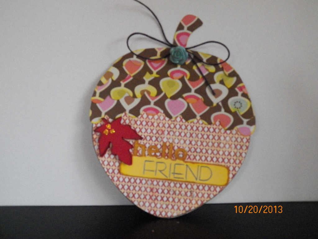 shaped card project