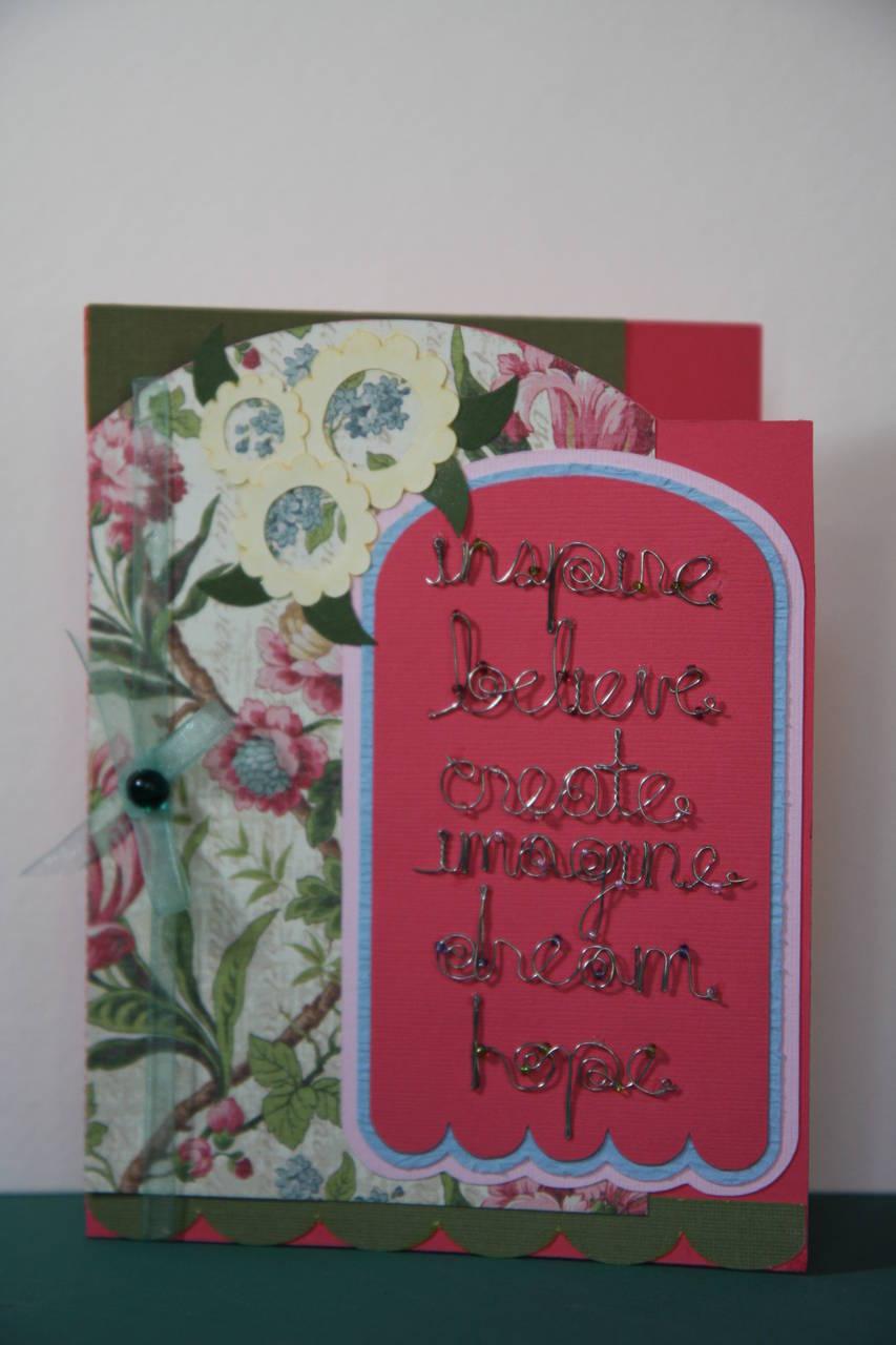 A teacher card