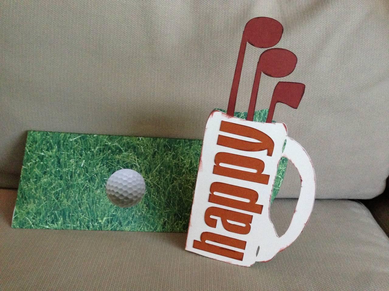 Golf Bag card