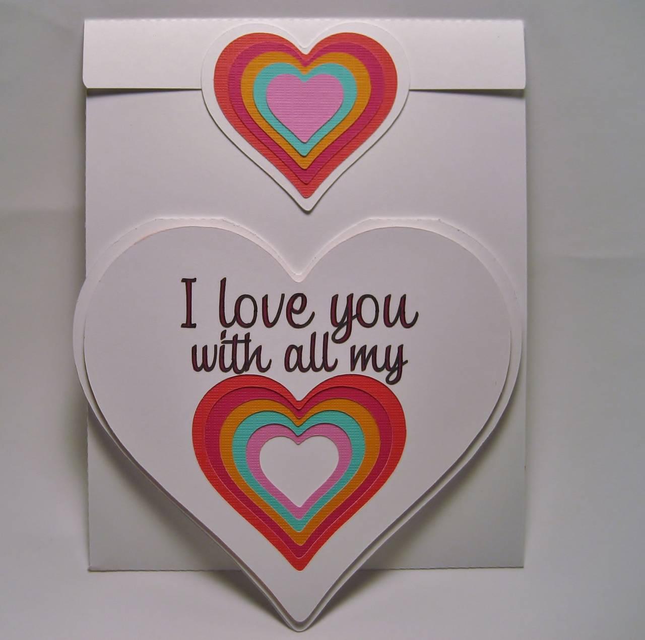 Heart Shaped Card