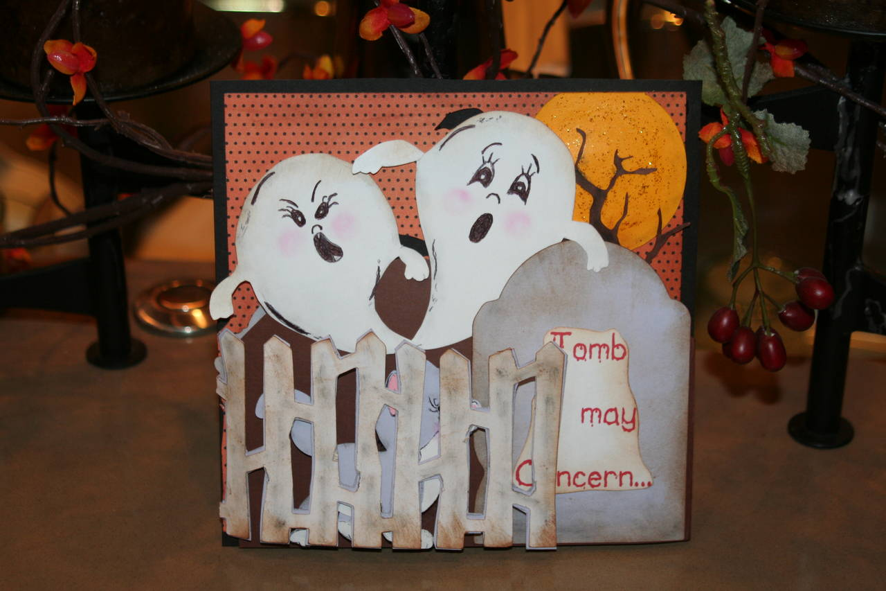Halloween card for a my Best Friend
