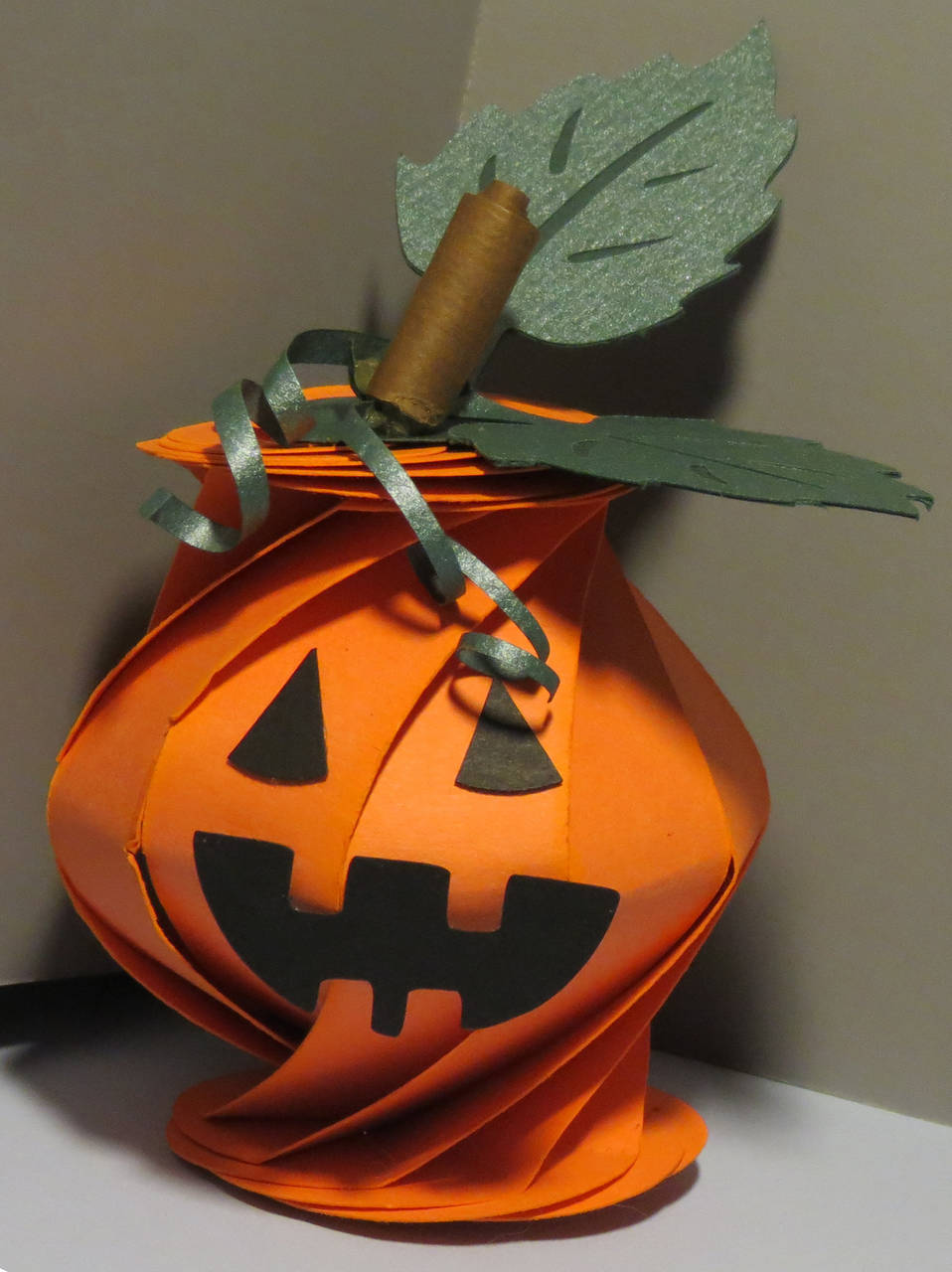 Swirl Pumpkin Box