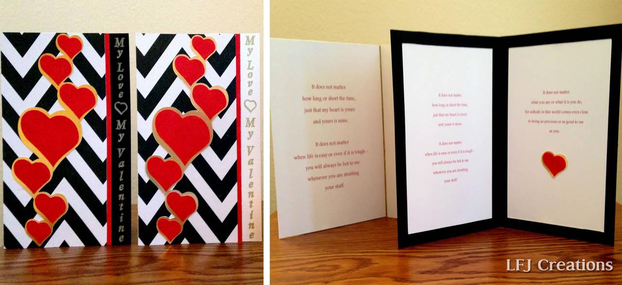 My Love, My Valentine Card
