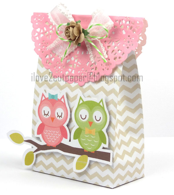Decorated Paper Bag