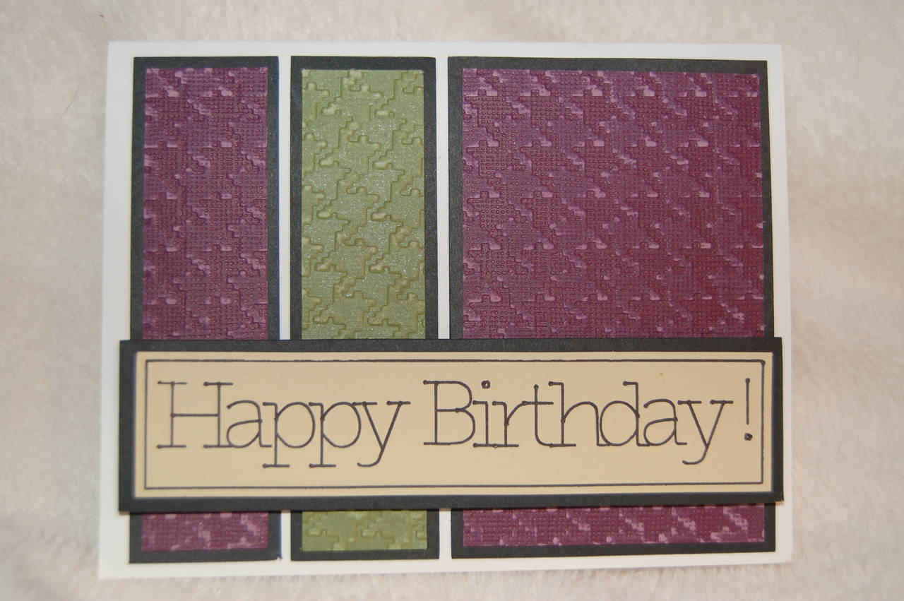 March B-Day Card