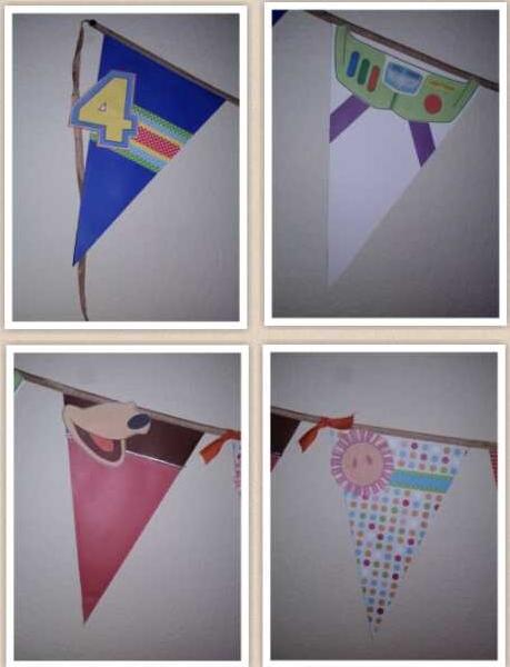 Toy Story Inspired Birthday Banner