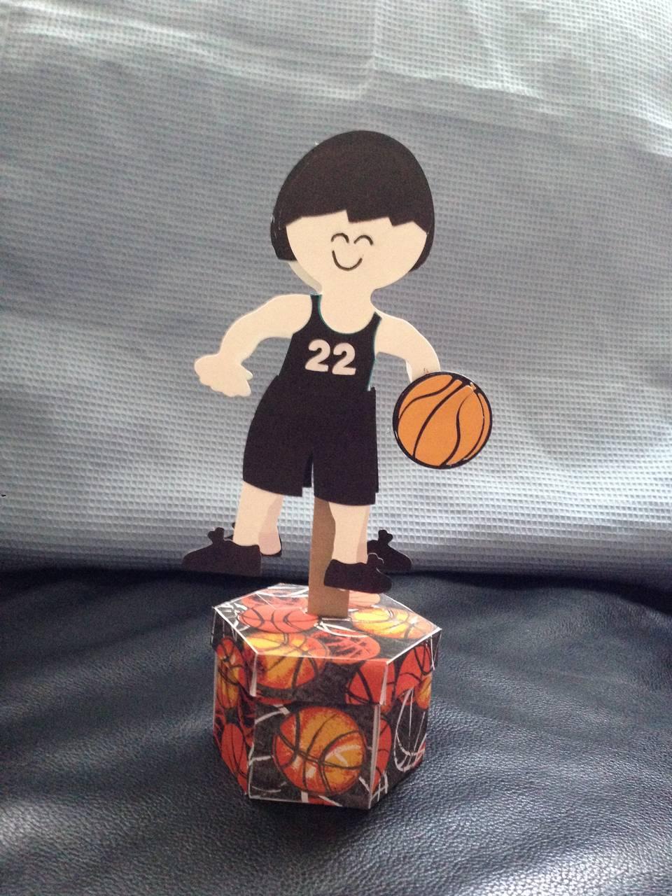 Bobble Basketball Player