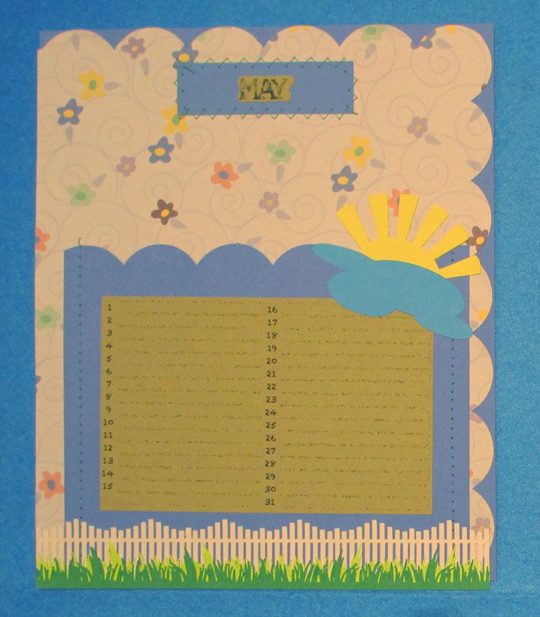 Card Planner: May Pocket