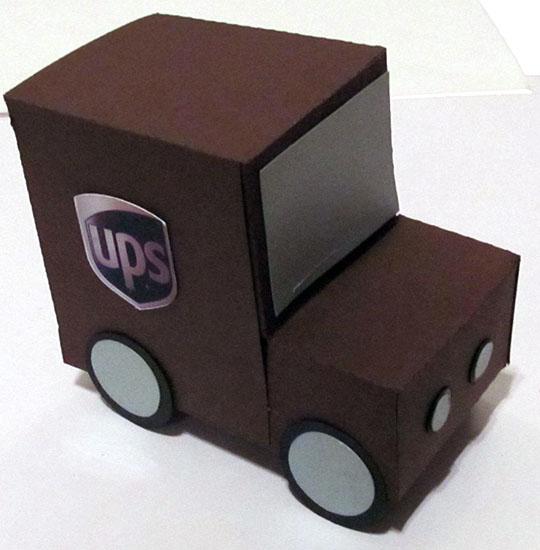 UPS Truck Gift Box