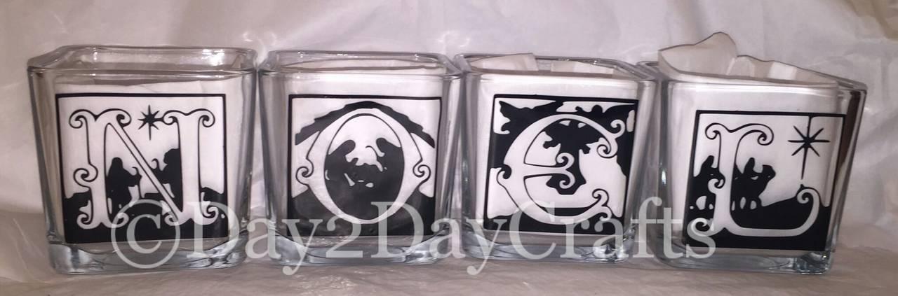 Noel Tea light candle holders