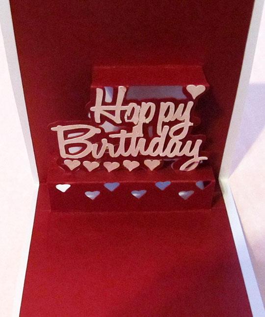 Happy Birthday Popup Card