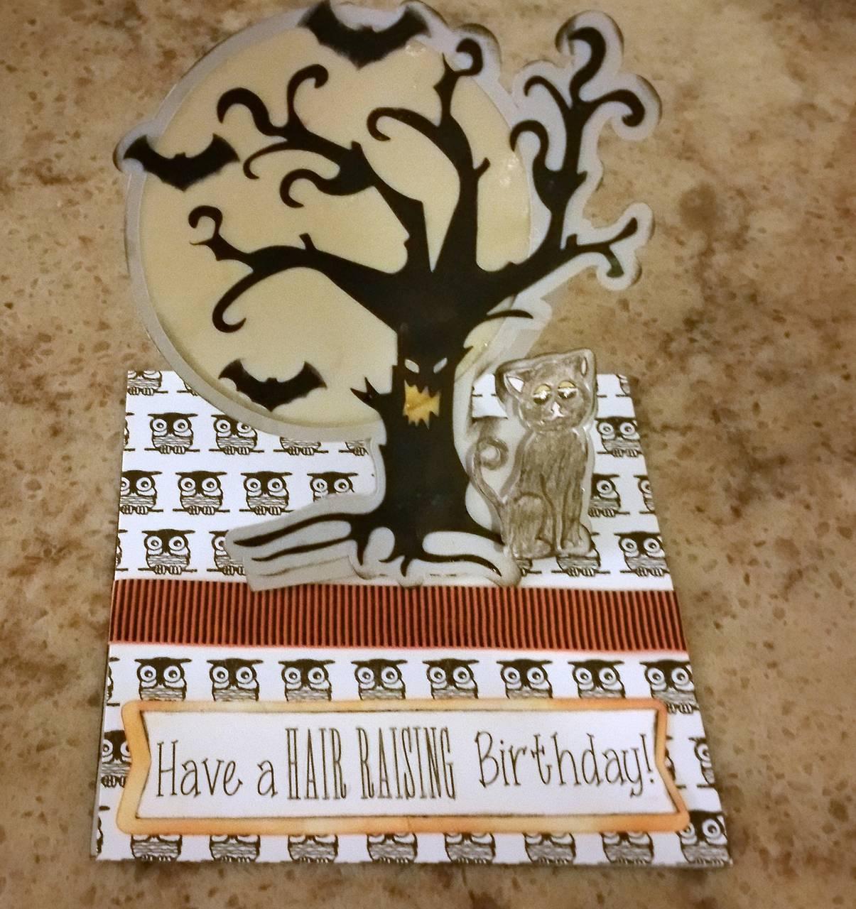 Halloween Birthday cards