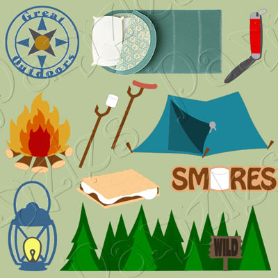 Camp Out Cutting Collection