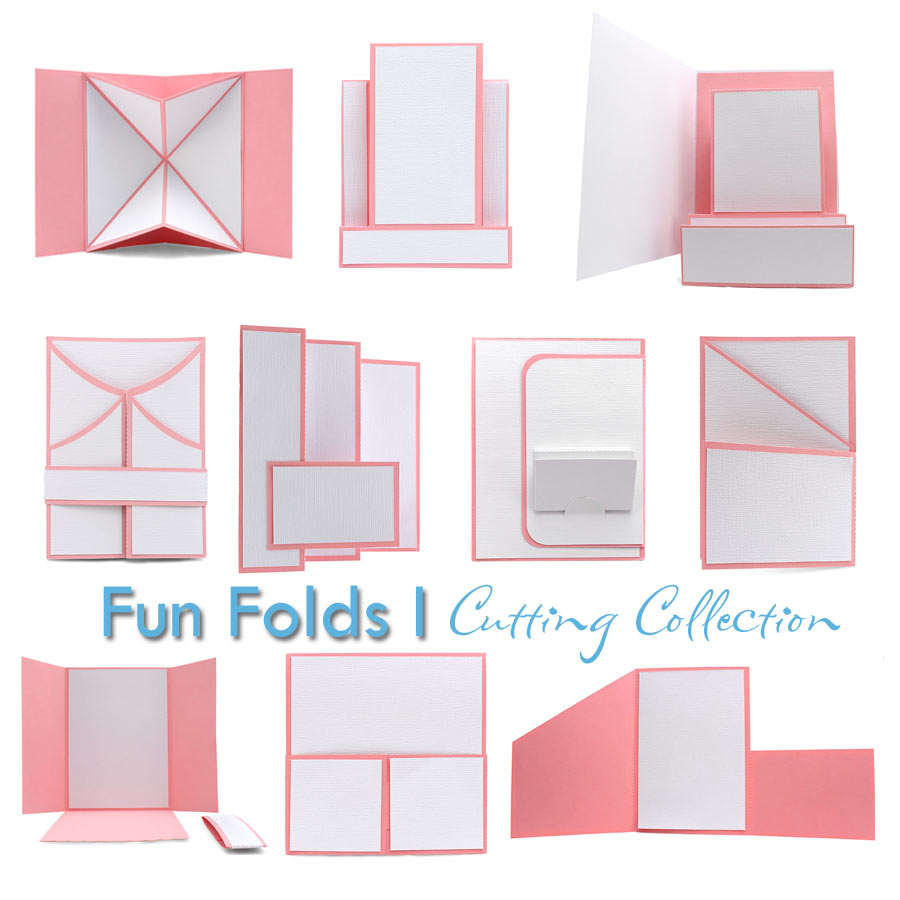 Fun Fold Card Bases Cutting Collection