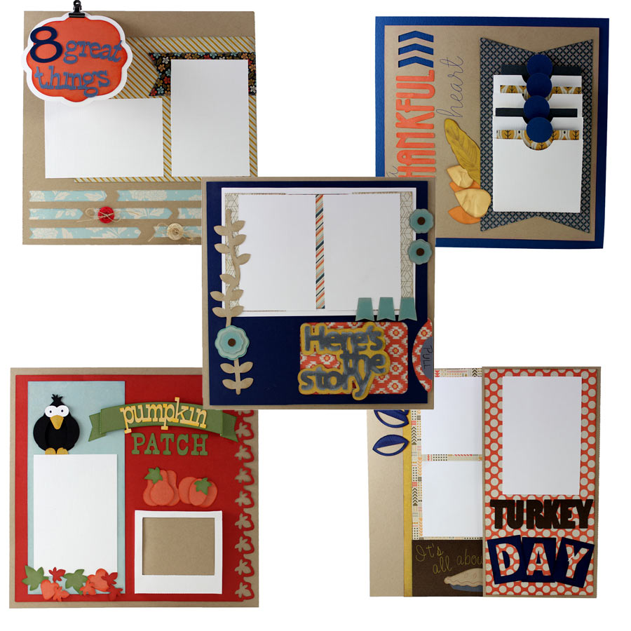 Interactive Fall Layouts Cutting Collection