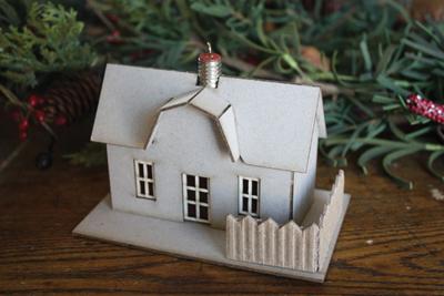 Melissa Frances Ornament House Farm Kit