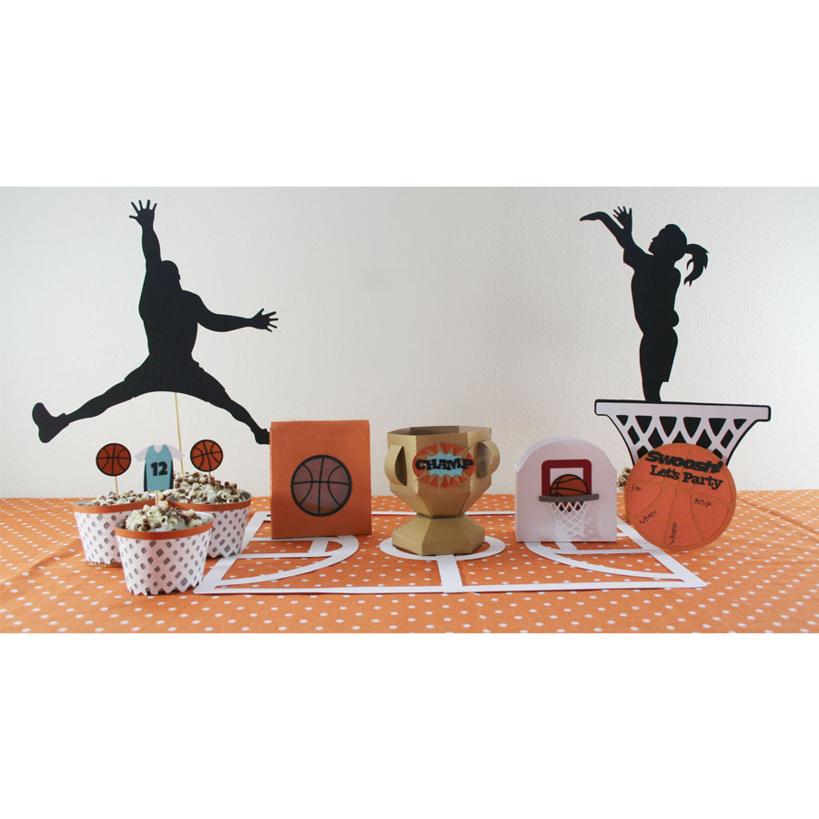 Basketball Party Cutting Collection