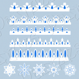 Rosette Snowflakes