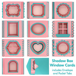 Shadow Box Window Cards Cutting Collection