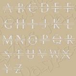Split-Letter Monogram, Roman Style