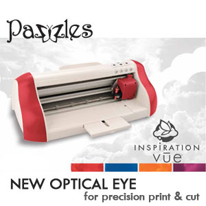 Pazzles Inspiration Vue, Pazzles, Inspiration Vue, Pazzles Inspiration, Print and Cut, Optical Eye,