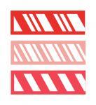 Candy Cane Stripe Borders