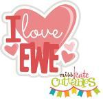 I Love Ewe Title