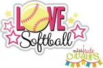 Love Softball Title