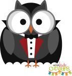 Halloween Vampire Owl