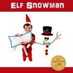 Elf Build a Snowman