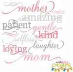 Mother Words Set