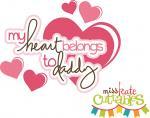 My Heart Belongs to Daddy Girl Title