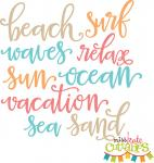 Beach Words