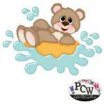 Bear in Float Tube