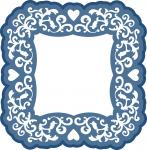 Hearts and Vine Frame