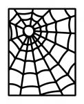 Caught in a Web Collection: Card Overly Closeup