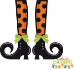 Dots Witch Shoes