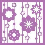 Flower Stripe Frame