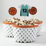 Basketball Party Collection: Cupcake Wrapper