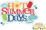 Hot Summer Days Title
