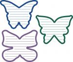 Shaped Journaling Collection: Butterflies