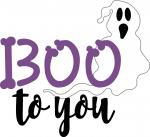 Boo to You Ghost