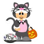 QT Patootie Kitty Costume