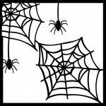 Spiderweb Scrapbook Background