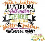 Halloween Night Words