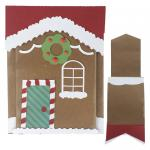 Fun Folds Christmas Cards: Gingerbread House