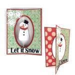 Fun Folds Christmas Cards: Snowman
